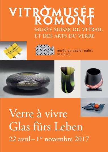 Musée Papier Peint -  Verre à vivre Exposition