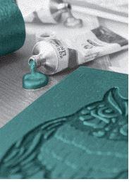 Atelier de linogravure et d'impression