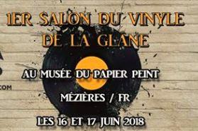 Salon vinyle juin musée papier peint